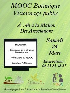 Affiche visionnage MOOC 1