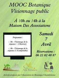 Affiche visionnage MOOC 2